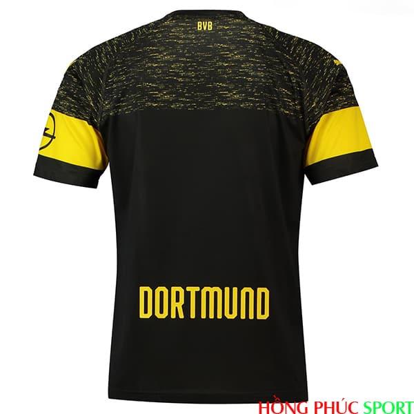 Phía sau áo đấu Dortmund sân khách mùa giải 2018 2019