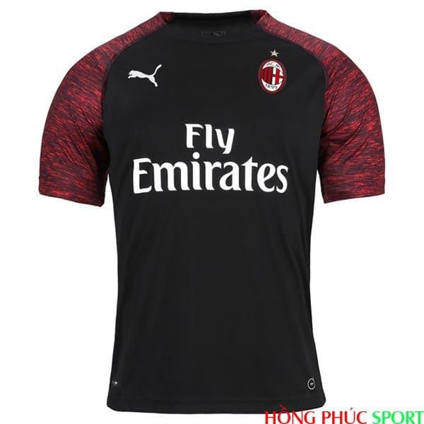 Phía trước áo đấu AC Milan thứ ba mùa giải 2018 2019