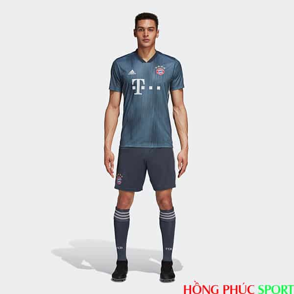 Tổng quan bộ áo đấu Bayern Munich thứ ba mùa giải 2018 2019