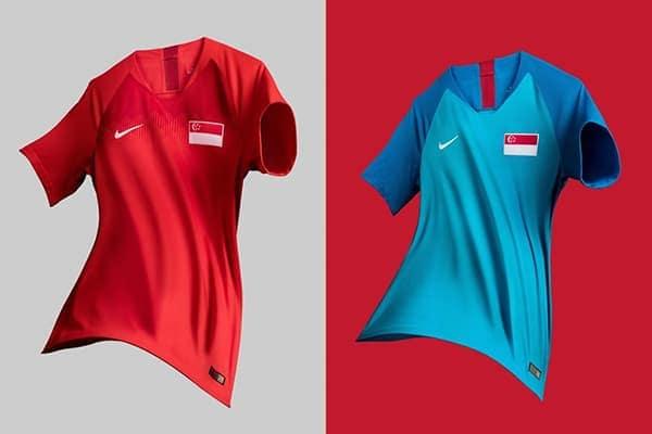 Áo đấu đội tuyển Singapore tại AFF Suzuki Cup 2018