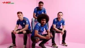 Áo đấu Leicester mùa giải 2019 2020