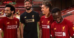 Áo đấu Liverpool mùa giải 2019 2020