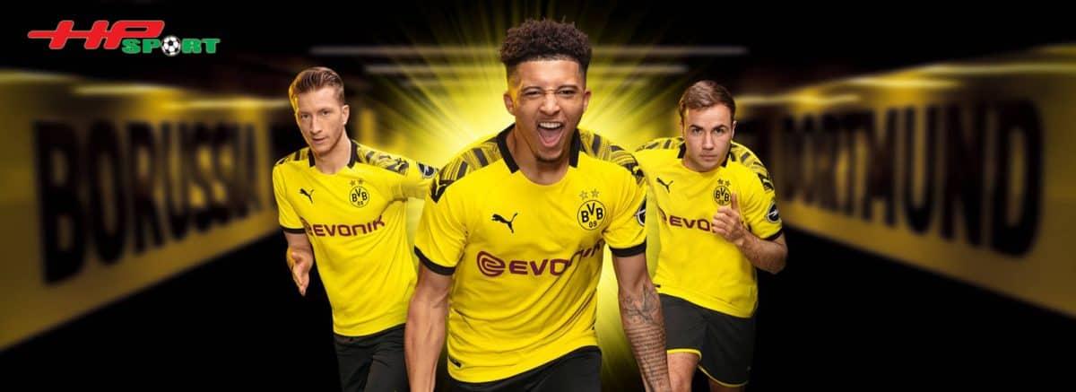 Áo đấu Dortmund mùa giải 2019 2020