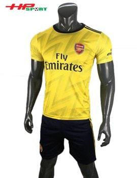 Áo bóng đá Arsenal sân khách 2019 2020 màu vàng