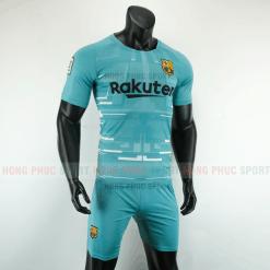 Áo bóng đá Barcelona 2019 2020 màu xanh