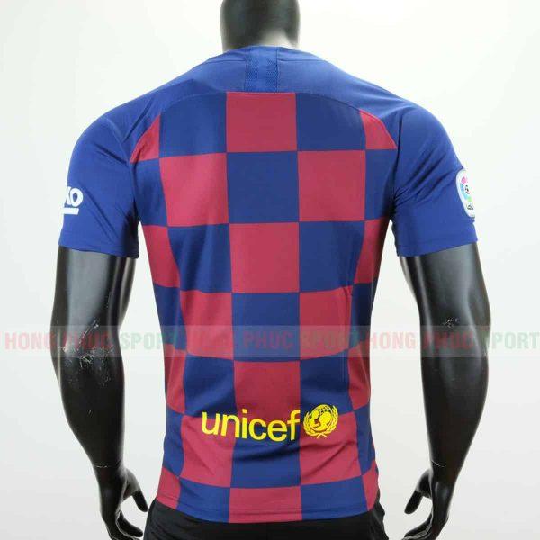Áo bóng đá Barcelona sân nhà 2019 2020 xanh đỏ
