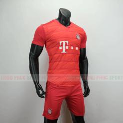 Áo bóng đá Bayern Munich sân nhà 2019 2020 màu đỏ