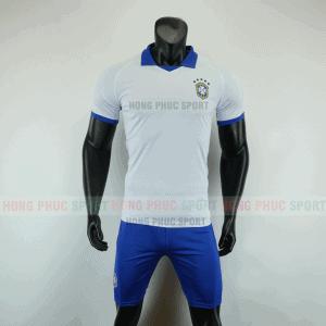 ÁO BÓNG ĐÁ BRAZIL 2019 COPA AMERICA MÀU TRẮNG