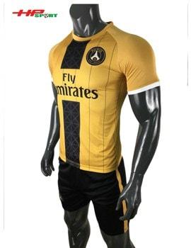 Áo bóng đá clb PSG 2019 2020 màu vàng đen