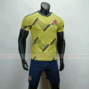 ÁO BÓNG ĐÁ COLOMBIA 2019 COPA AMERICA MÀU VÀNG