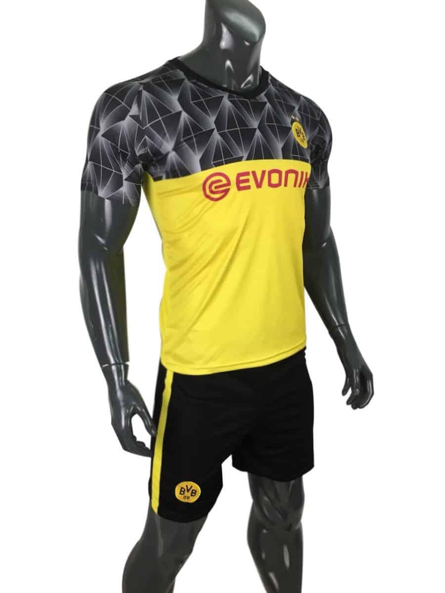 Áo bóng đá Dortmund mẫu thứ ba 2019 2020 vàng đen