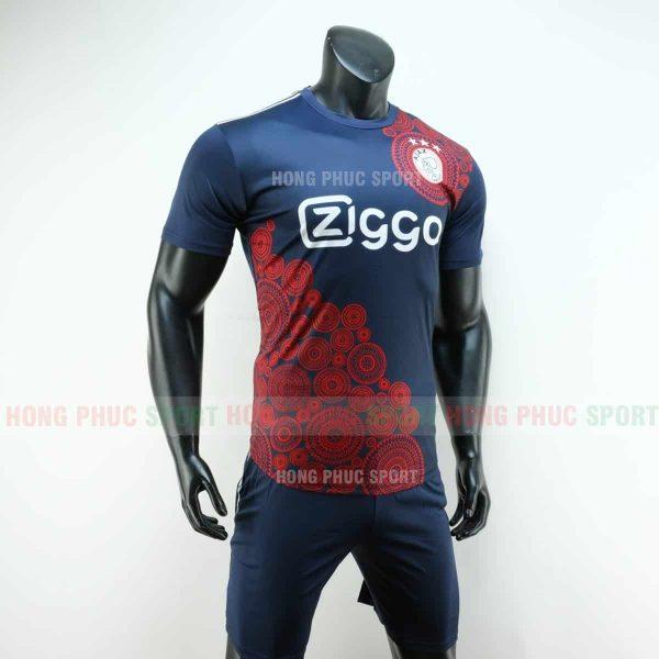 Áo bóng đá Ajax 2019 2020 màu xanh