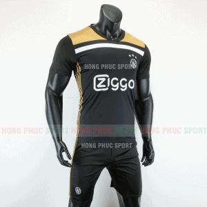 Áo bóng đá Ajax sân khách 2019 2020 màu đen