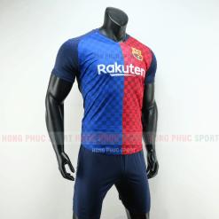 Áo bóng đá Barcelona 2019 2020 màu xanh đỏ