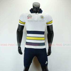 Áo bóng đá di chuyển CLB Hà Nội 2019 2020 màu trắng
