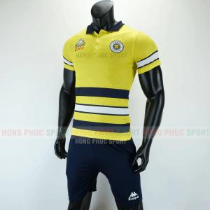 Áo bóng đá di chuyển CLB Hà Nội 2019 2020 màu vàng