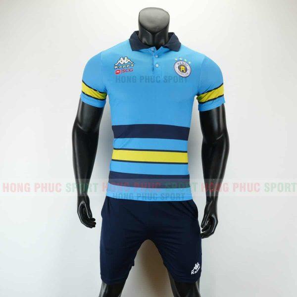 Áo bóng đá di chuyển CLB Hà Nội 2019 2020 màu xanh