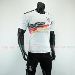 Áo bóng đá đội tuyển Đức sân nhà 2019 2020 màu trắng