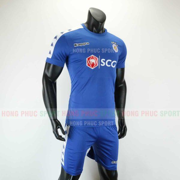 Áo bóng đá Hà Nội mẫu thứ ba 2019 2020 màu xanh