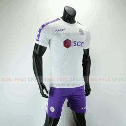 Áo bóng đá Hà Nội sân khách 2019 2020 màu trắng