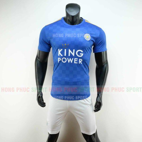 Áo bóng đá Leicester City 2019 2020 màu xanh