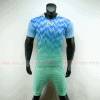 Áo đá bóng T90 màu xanh rêu không logo 2019 2020