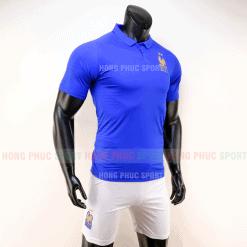 Áo bóng đá đội tuyển Pháp 2019 màu xanh kỷ niệm 100 năm thành lập hàng việt