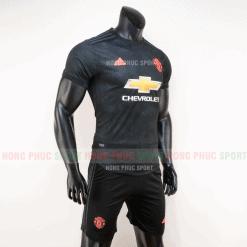 Áo bóng đá Manchester United mẫu thứ ba 2019 2020 màu đen hàng thái
