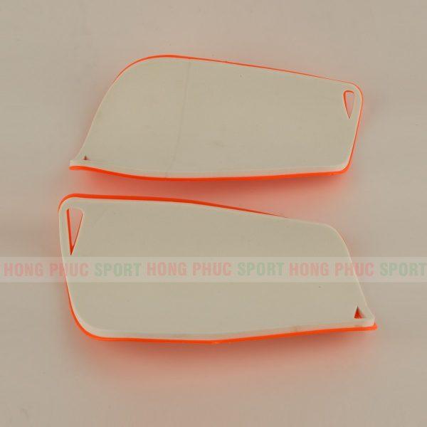 Ốp bảo vệ ống chân đá bóng Liverpool - ốp ống đồng màu cam