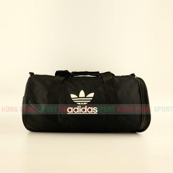 Túi trống thể thao Adidas cao cấp có ngăn đựng giày màu đen