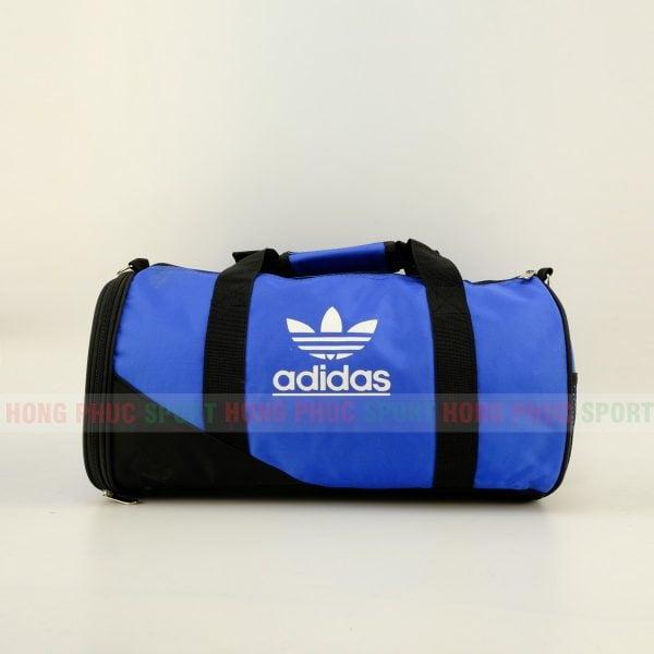 Túi trống thể thao Adidas cao cấp có ngăn đựng giày màu xanh lam