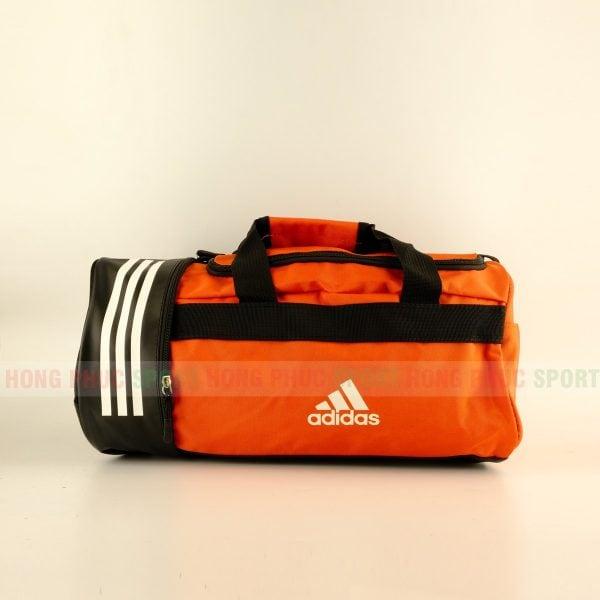 Túi trống thể thao Adidas có ngăn đựng giày màu cam