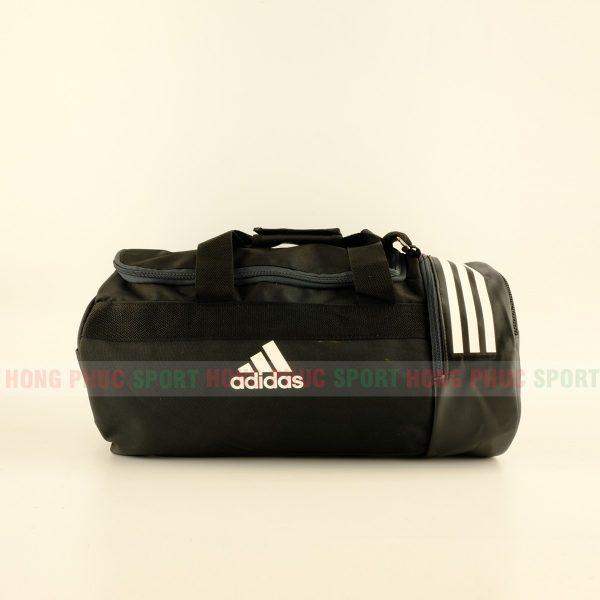 Túi trống thể thao Adidas có ngăn đựng giày màu đen