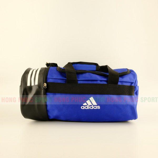 Túi trống thể thao Adidas có ngăn đựng giày màu xanh lam