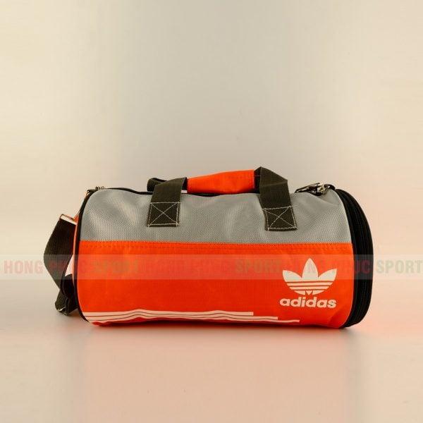Túi trống thể thao Adidas màu xanh cam