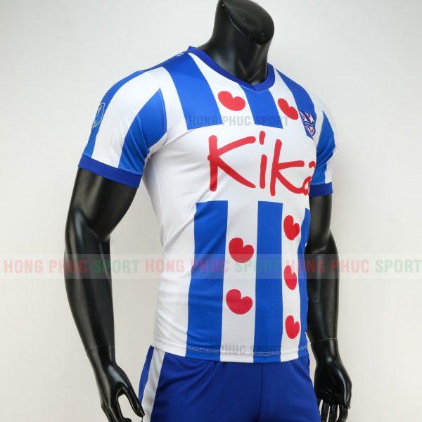 Áo bóng đá Heerenveen 2019 2020 màu trắng xanh