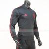Áo khoác Manchester United 2019-2020 màu đen super fake Thái Lan
