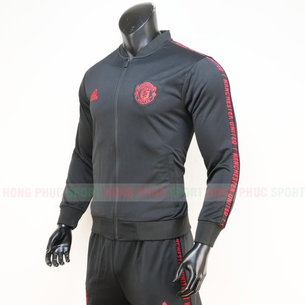 Bộ quần áo Manchester United 2019-2020 màu đen super fake Thái Lan