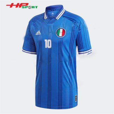 Áo bóng đá đội tuyển Italia thành phố Jersey Euro 2020