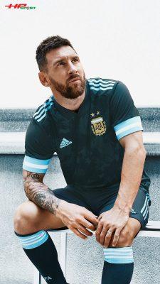 Áo bóng đá Argentina sân khách Copa America 2020