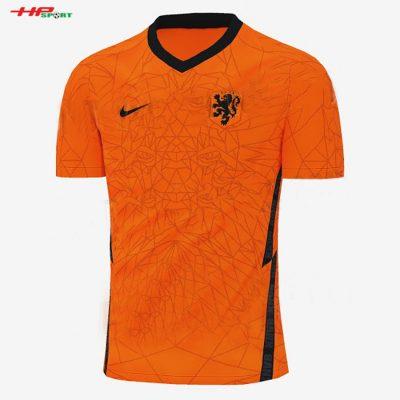 Áp bóng đá đội tuyển Hà Lân sân nhà Euro 2020 màu cam