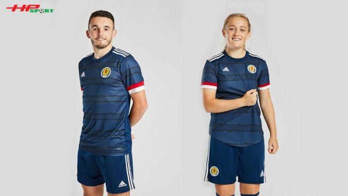 Áo bóng đá đội tuyển Scotland sân nhà Euro 2020