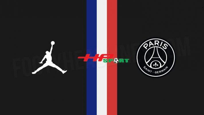 Áo bóng đá PSG mẫu thứ tư 2019 2020 màu đen