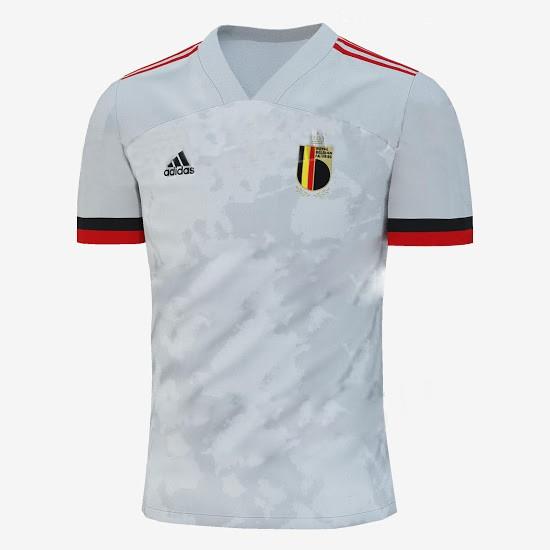 Áo bóng đá đội tuyển quốc gia Bỉ sân khách Euro 2020