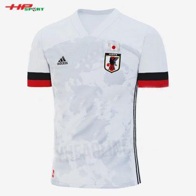 Áo bóng đá đội tuyển Nhật Bản sân khách 2020 2021
