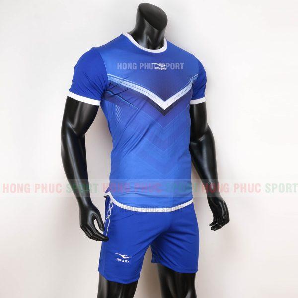 Áo bóng đá không logo Monster Keep Fly 2020 màu xanh bích