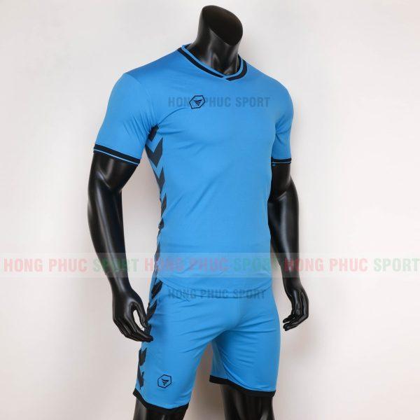 ao-bong-da-khong-logo-armored-2020-xanh-duong-6