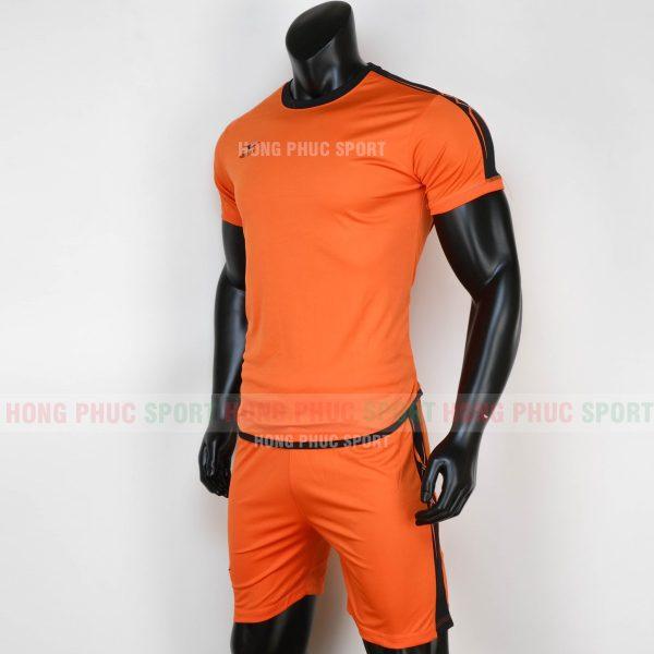 o bóng đá không logo Chain Basic 2020 màu cam-3