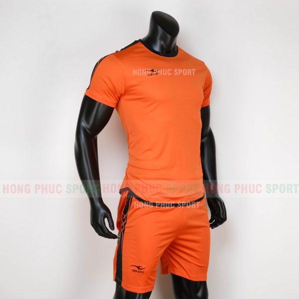 o bóng đá không logo Chain Basic 2020 màu cam-6
