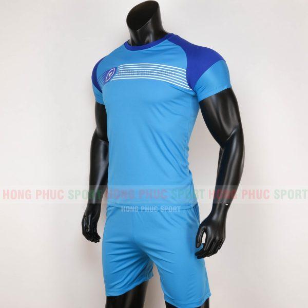 ao-bong-da-khong-logo-prospec-2020-xanh-bich-3